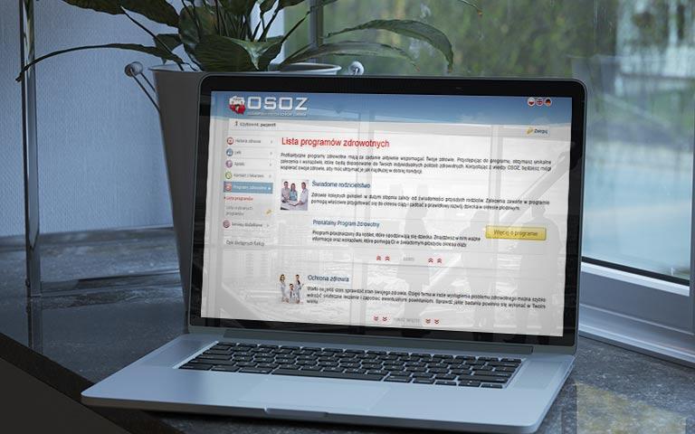 OSOZ - pakiet oprogramowania dla przychodni - Asmmed Sławomir Opajdowski
